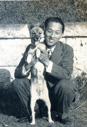 shinichi&dog